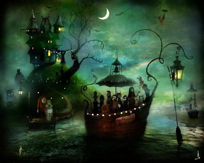 Волшебные рисунки Alexander Jansson