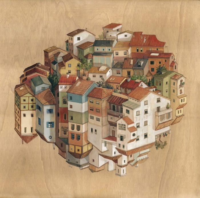 Мир каждого человека в иллюстрациях Cinta Vidal Agull?