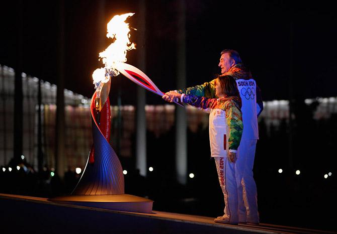 Открытие Олимпиады в Сочи 2014