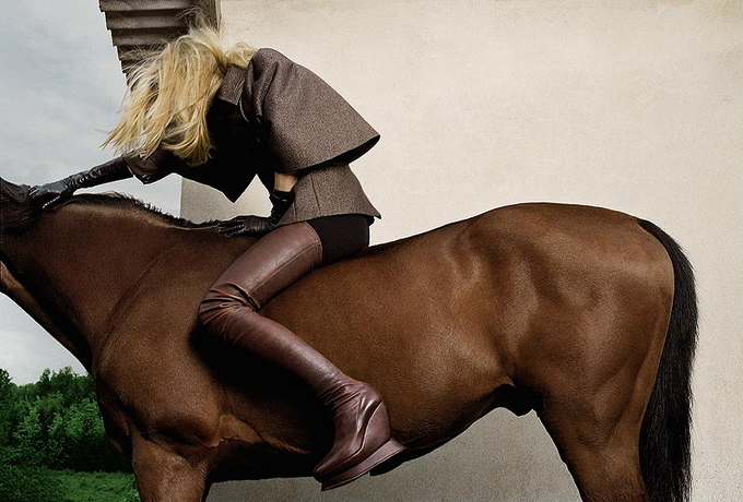 Модный фотограф Томас Краппитц