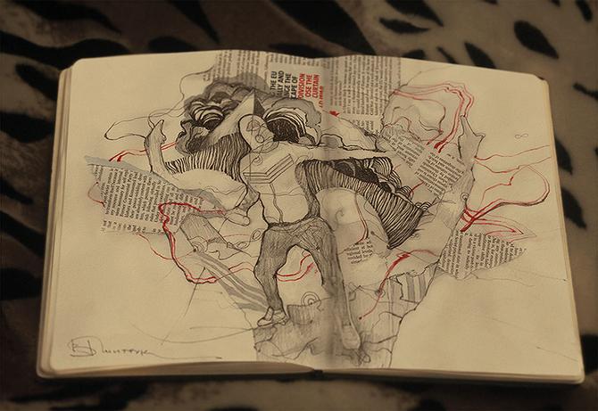 Рисунки Виталия Дмитрука