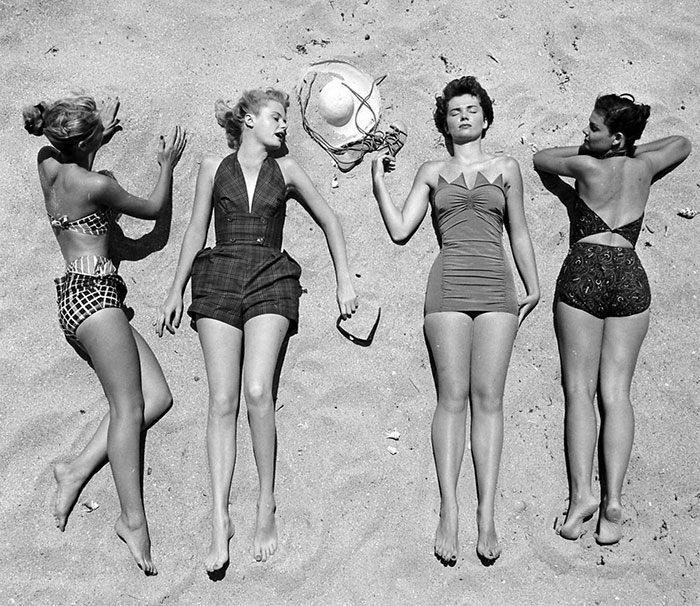 Женщины середины XX века в фотографиях Nina Leen
