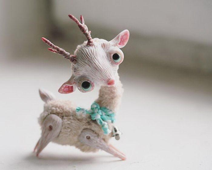 Милые и странные куклы Анна Назаренко