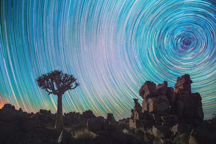 Звезды над Африкой в фотографиях Daniel Kordan