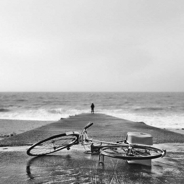 Черно-белые фото Benoit Courti