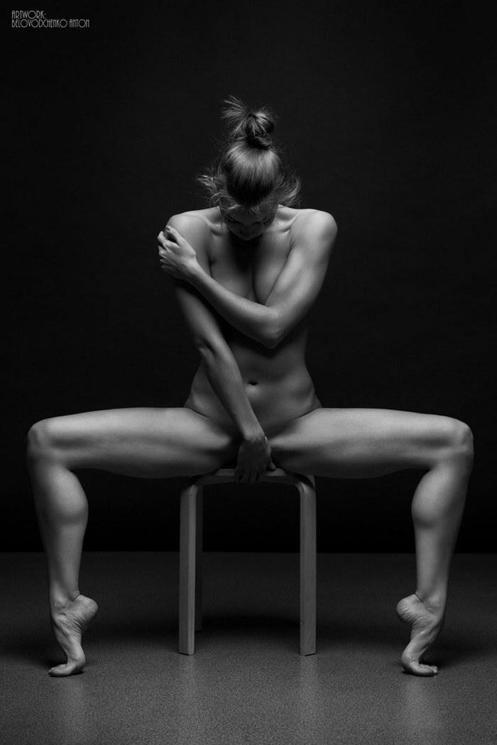 Женское тело в фотографиях Антона Беловодченко