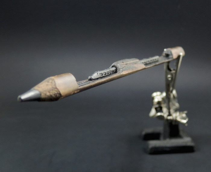 Скульптуры на грифелях карандашей Jasenko ?or?evi?