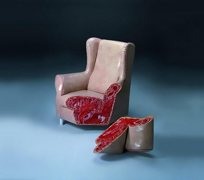 Шокирующая мебель Cao Hui