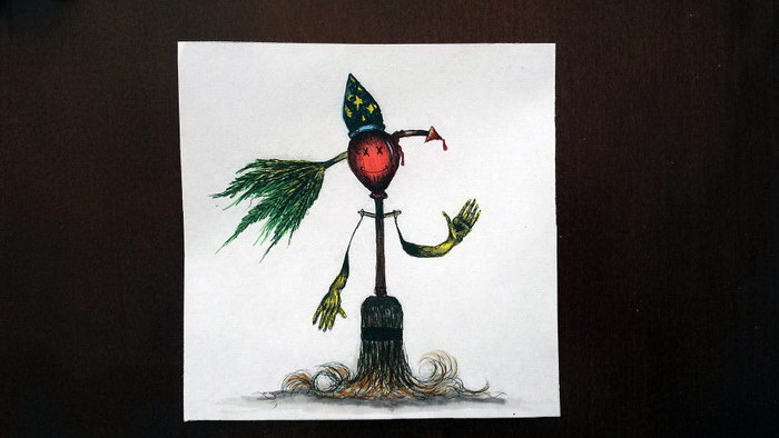 Нарисованные монстры Véronique Triganne