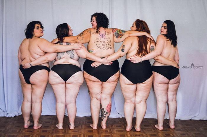 Толстые женщины в фотопроекте Mariana Godoy