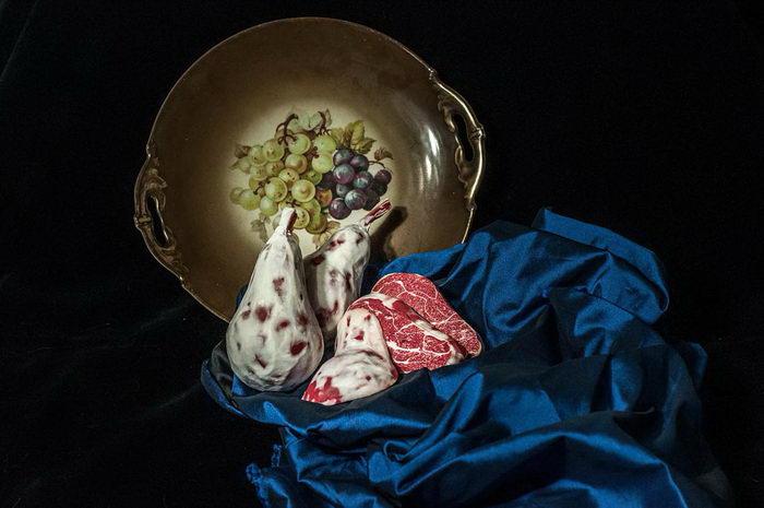 Мясные скульптуры Roni Landa