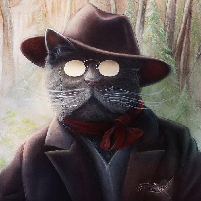 Исторические портреты животных Christina Hess