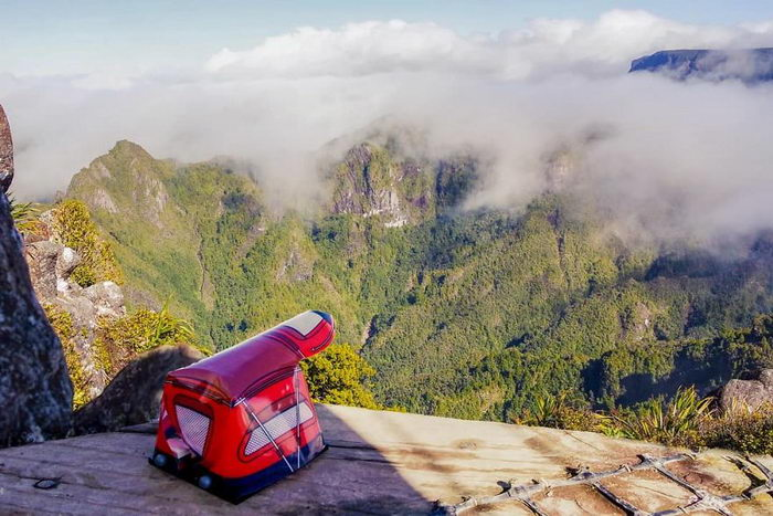 The Lego backpacker: красота Новой Зеландии + LEGO