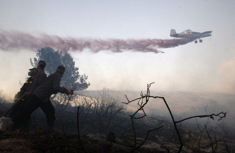 Самый крупный пожар в Израиле