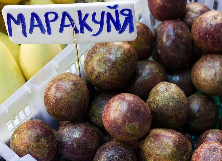 """""""Русификация"""" на тайском фруктовом рынке"""