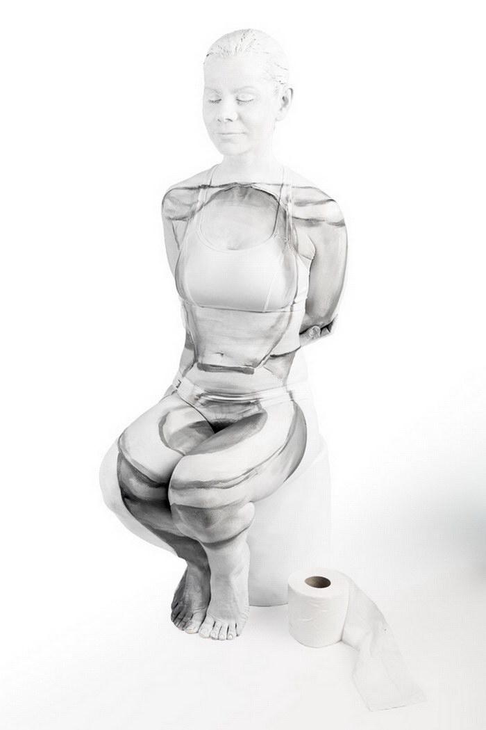 Невероятно реалистичный боди-арт Emma Fay