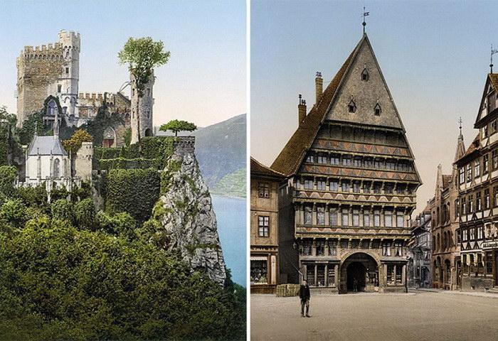 Германия в 1900-х годах: редкие кадры в цвете