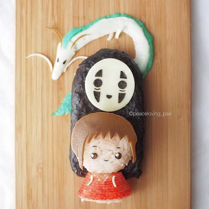 Креативные японские Онигири
