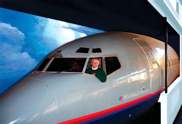 Жильё в самолёте