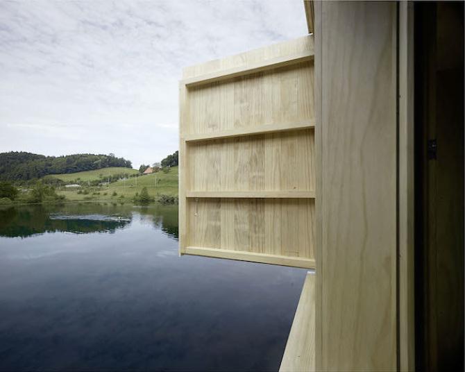 Дом на озере: тишина и уединение
