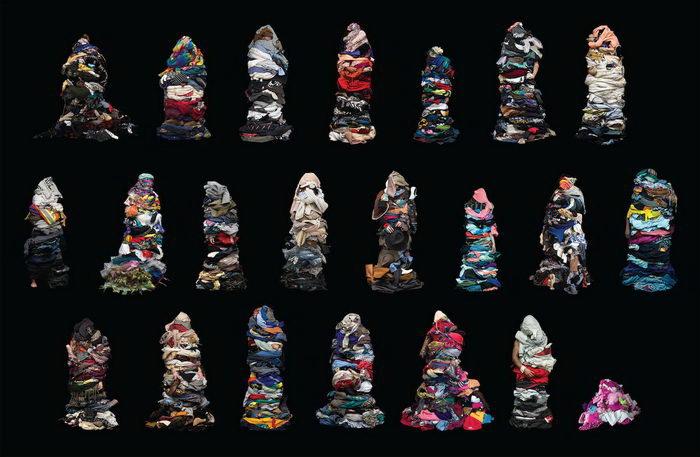 Одетые во всю свою одежду: проект Libby Oliver
