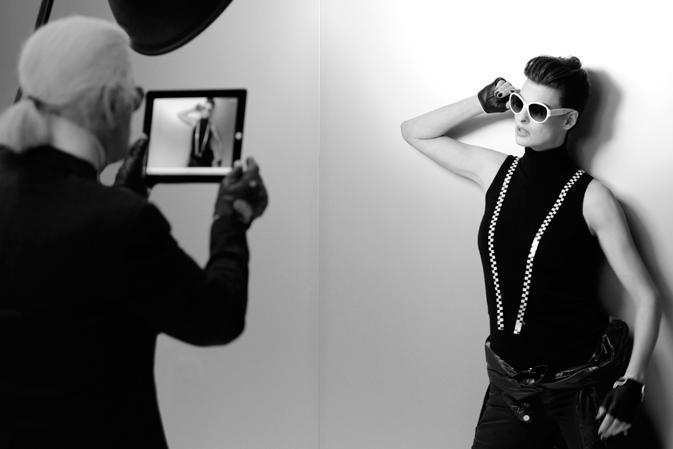 Апрельский лукбук от Chanel Eyewear 2012