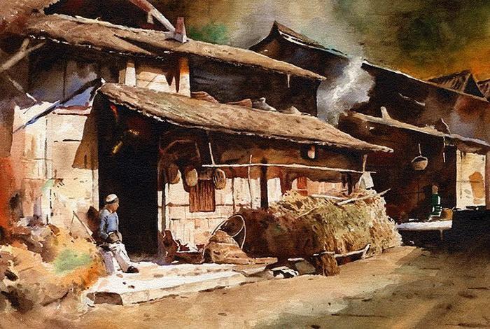 Акварельные картины Se Ming Zhang