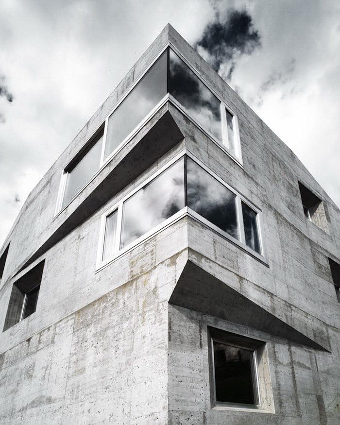 Просторный дом в Швейцарии