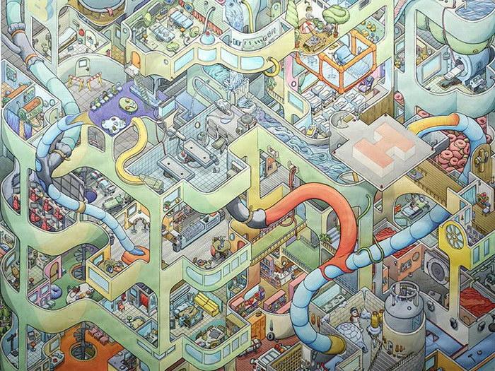 Иллюстрации Scott Teplin
