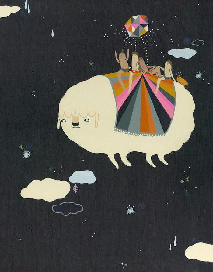 Забавные иллюстрации Laura Berger