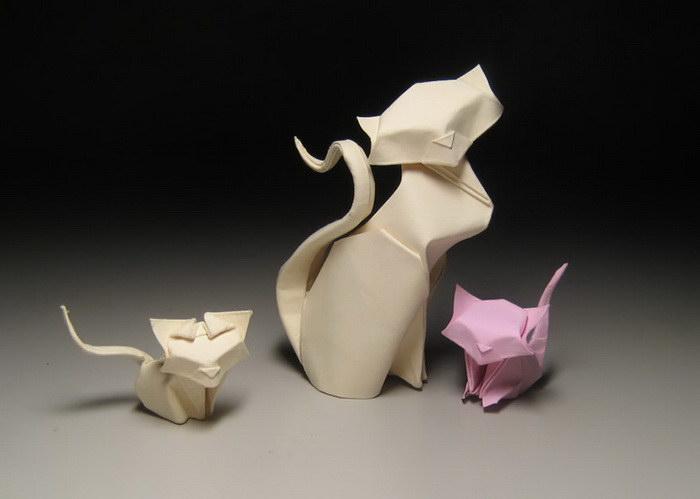 Необычное оригами Ho?ng Ti?n Quy?t