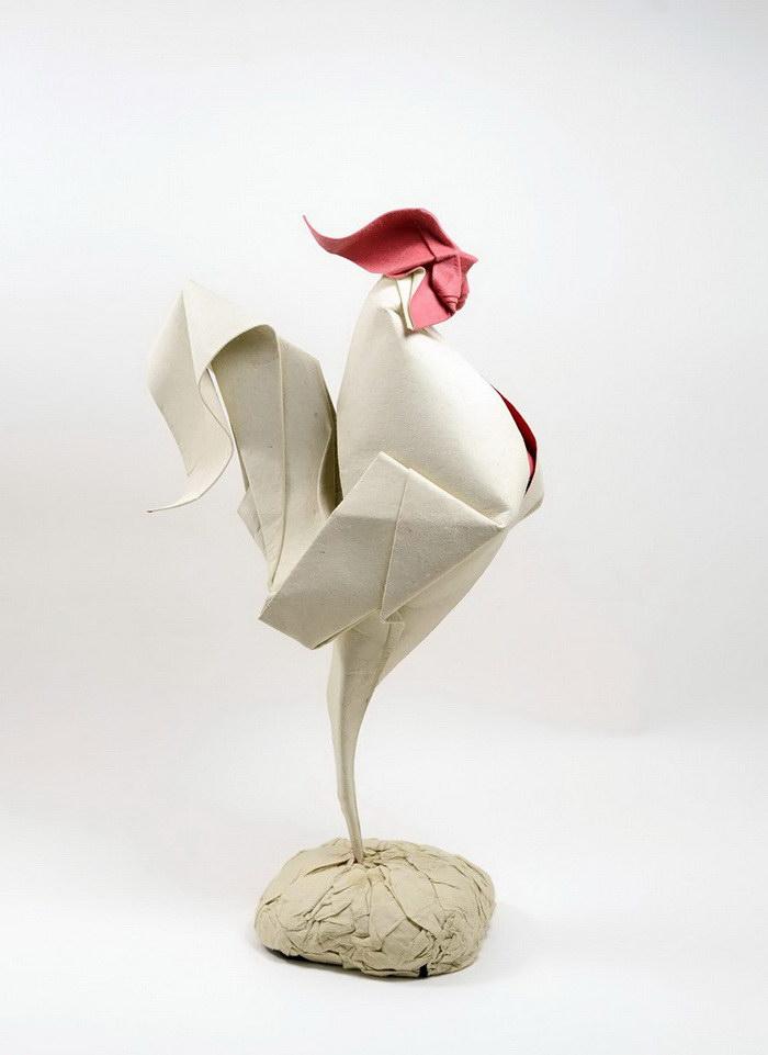 Необычное оригами Hoàng Tiến Quyết