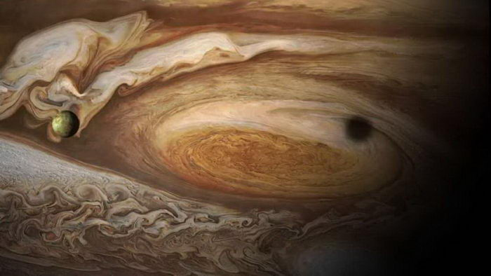 Новые фотографии Юпитера NASA