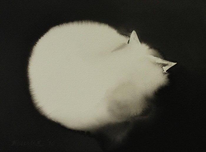 Новые акварельные картины Endre Penovac