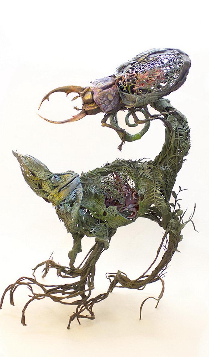 Воздушные скульптуры животных Ellen Jewett