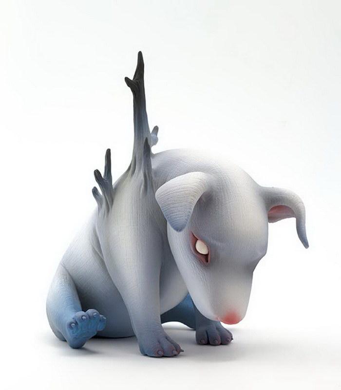 Керамические скульптуры Erika Sanada