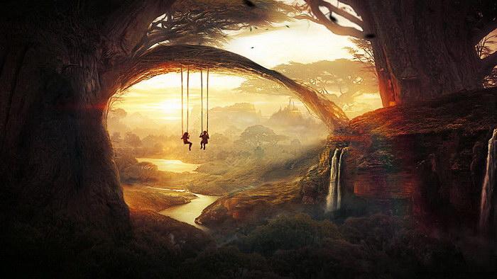 Цифровые пейзажи Martina Stipan