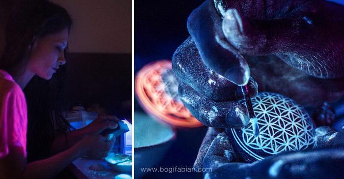 Украшения Bogi Fabian, светящиеся в темноте