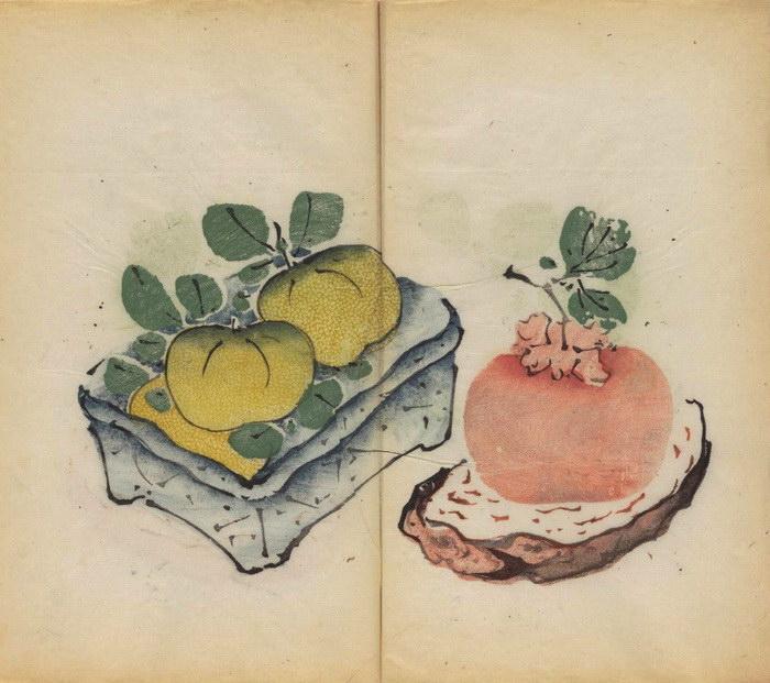 Учебник каллиграфии и рисунка XVII века