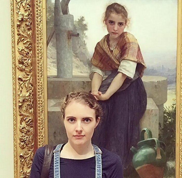 20 человек, которые обнаружили своих двойников на картинах музеев