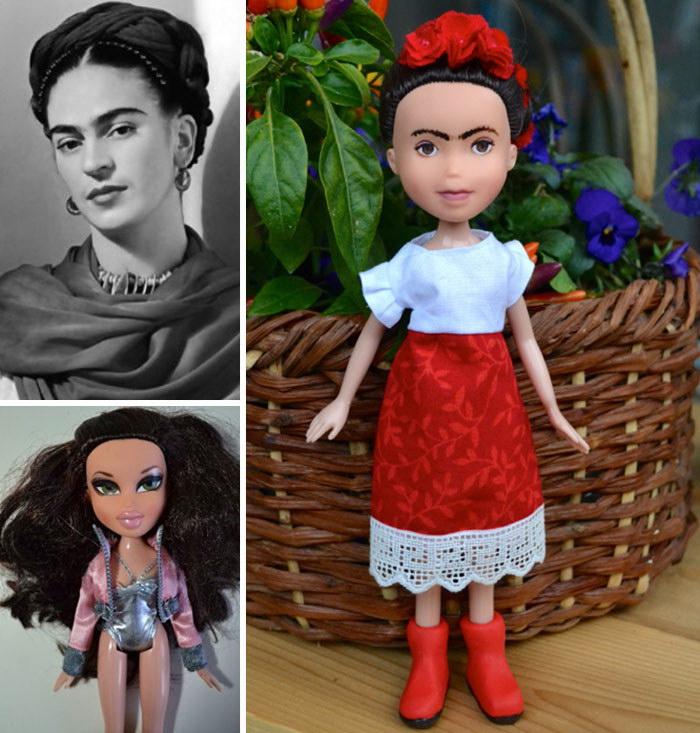 Вульгарные куклы превращаются в сильных женщин: проект Wendy Tsao