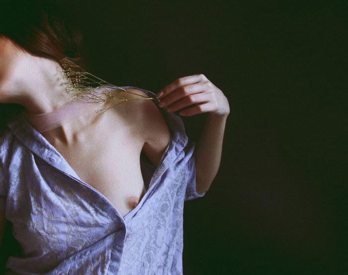 Fabrizia Milia и ее эротические автопортреты