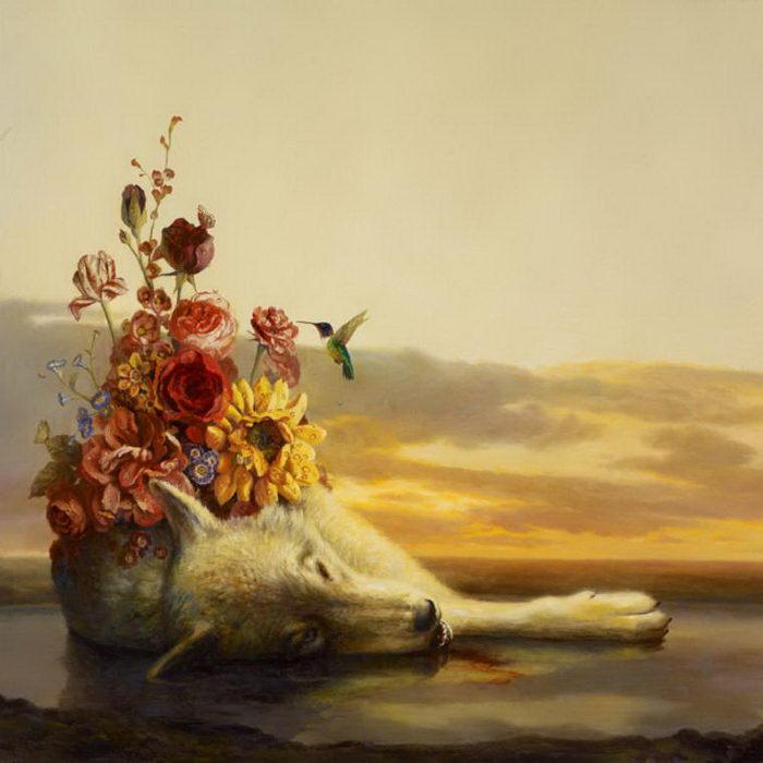 Мечтательные картины Martin Wittfooth