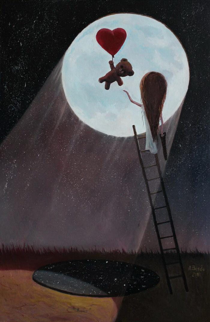 Драматичные иллюстрации Adrian Borda