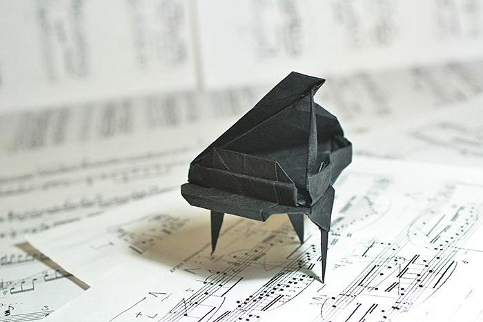 16 потрясающих оригами разных мастеров