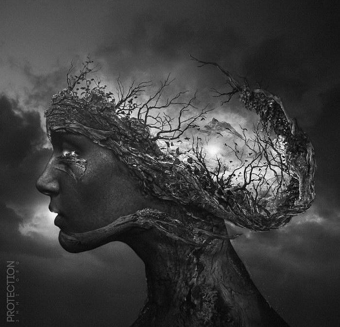 Мрачные иллюстрации Pierre-Alain D.