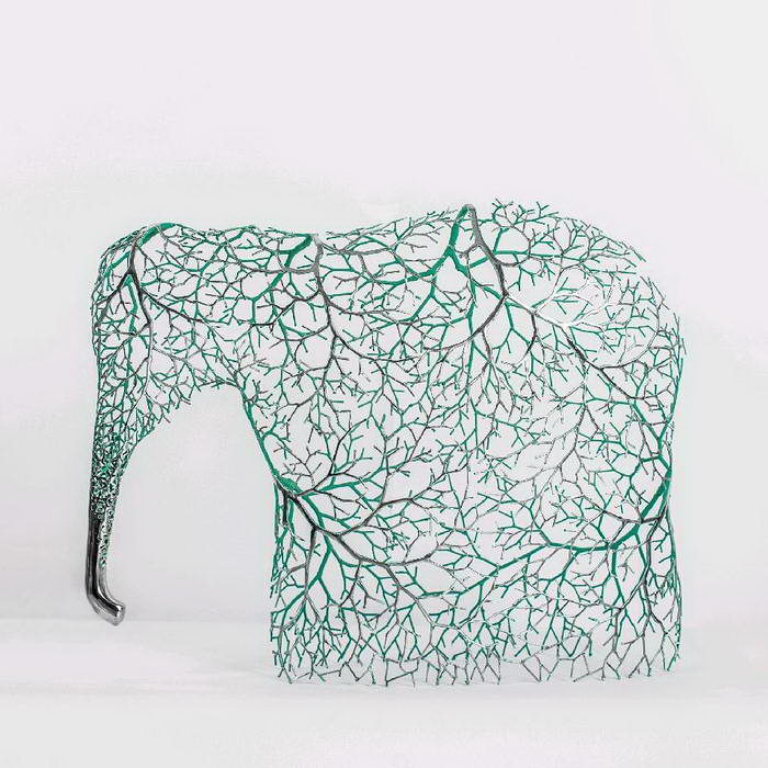Металлические скульптуры Kang Dong Hyun