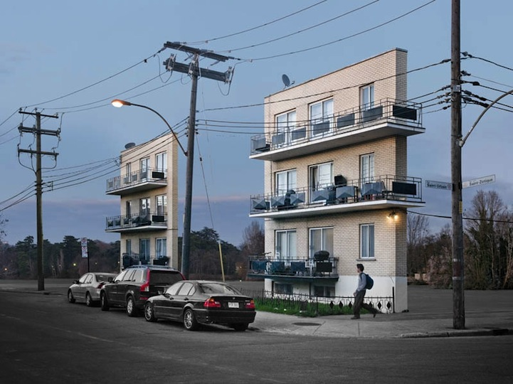 Фасады без зданий Zacharie Gaudrillot-Roy