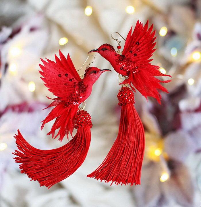 Невероятные птицы ручной работы Julia Gorina