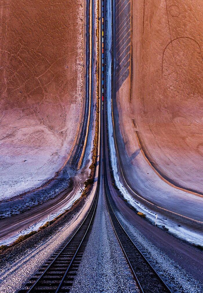 Бесконечные дороги на фотографиях Aydın Büyüktaş